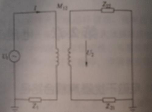 等效电路如图所示: 在电容耦合的情形中,电磁干扰是以被影响导体和地