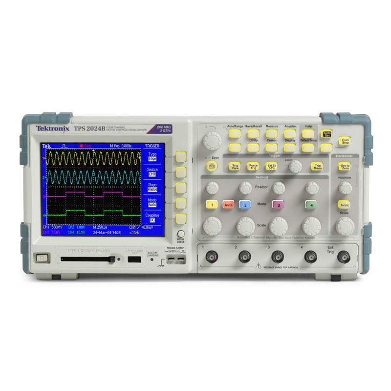 数字存储示波器tps2024b