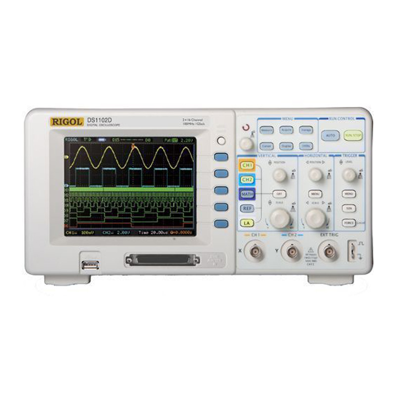 rlc的稳态实验电路图含示波器